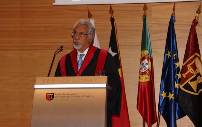Doutoramento Honoris Causa - Xanana Gusmão