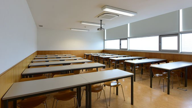 Sala de Aula (50 lugares) - ISCSP-ULisboa
