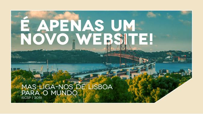 Novo Website - ISCSP-ULisboa