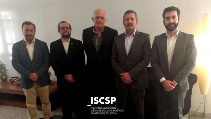 O protocolo entre o ISCSP-ULisboa e a Universidade Federal do Cariri foi assinado no dia 23 de abril.