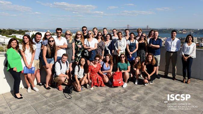 ISCSP-ULisboa recebe estudantes holandeses da University of Groningen