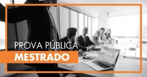Prova Pública de Mestrado - Victor António Mayela