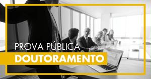 Prova Pública de Doutoramento - Mestre Marcelo Pimentel