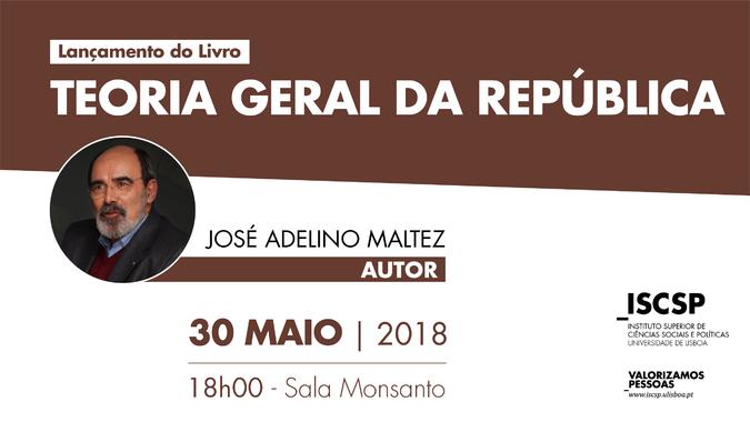 """Sessão de apresentação do livro """"Manual de Ciência Política: Teoria Geral da República"""", de José Adelino Maltez"""