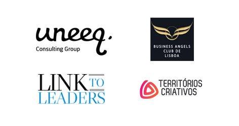 Este curso conta com a colaboração do Lisbon Business Angels Club; da Territórios Criativos, da Link to Leaders e da Uneeq.