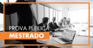 Prova Pública de Mestrado - Ana Catarina Faustino
