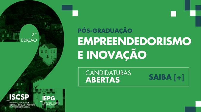 As candidaturas às Pós-Graduações do ISCSP-ULisboa estão abertas até ao dia 1 de outubro de 2018.