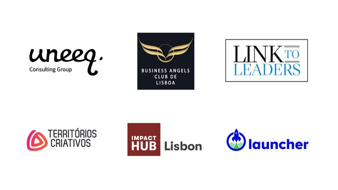 Este curso conta com a colaboração do Lisbon Business Angels Club, da Territórios Criativos, da Link to Leaders, da Uneeq, da Launcher e do Impact Hub Lisbon.
