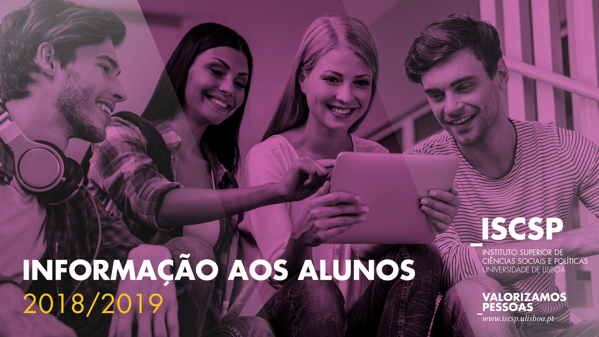 Candidatos admitidos à frequência de Unidades Curriculares Isoladas - 2.º Semestre - Ano Letivo 2018-2019