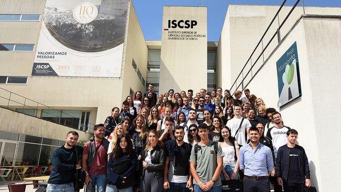 Este semestre, o ISCSP-ULisboa será a casa de 104 estudantes em mobilidade.