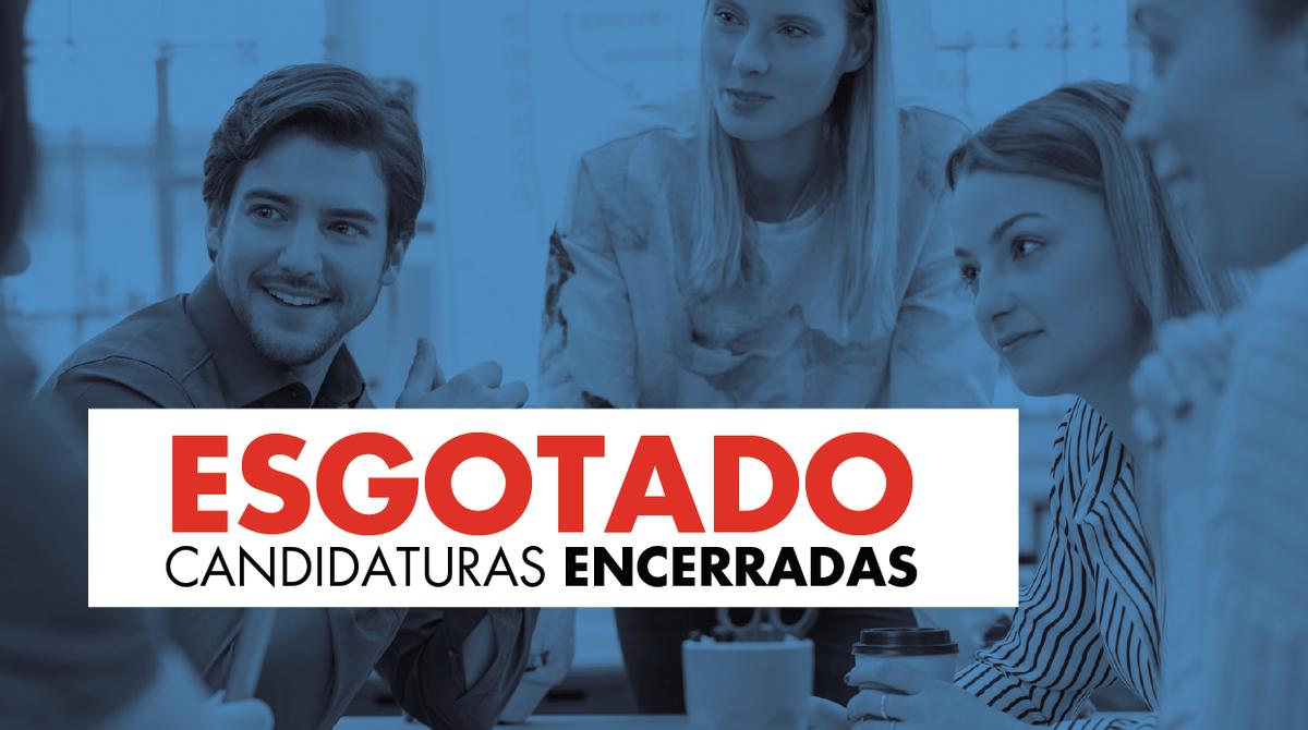 Candidaturas encerradas - Pós-Graduações em Comunicação Estratégica Digital e Contabilidade e Gestão Pública