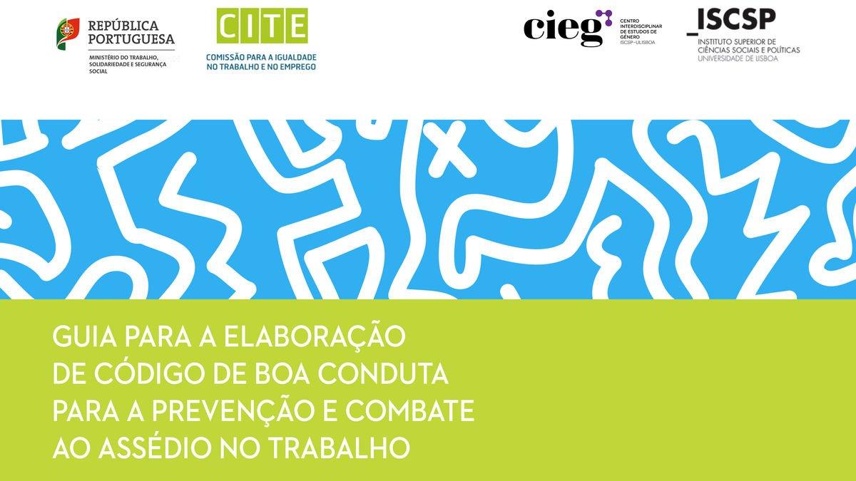 """CIEG divulga """"Guia para a elaboração do código de boa conduta para a prevenção e combate ao assédio no trabalho"""""""