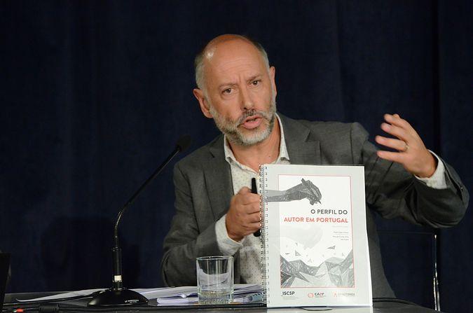"""Estudo """"O Perfil do Autor em Portugal"""" apresentado na Sociedade Portuguesa de Autores (fotografias cedidas pela SPA)."""