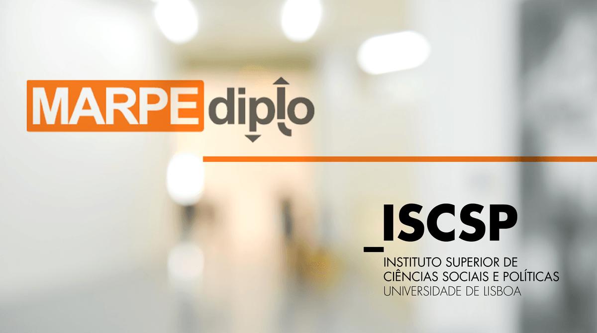 ISCSP-ULisboa é parceiro estratégico em programa financiado pelo ERASMUS+ - Parcerias Estratégicas - MARPE Diplo