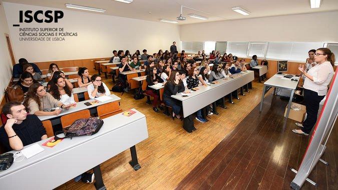 A equipa das Conferências do Estoril (CE) esteve presente no ISCSP-ULisboa, no dia 25 de outubro.