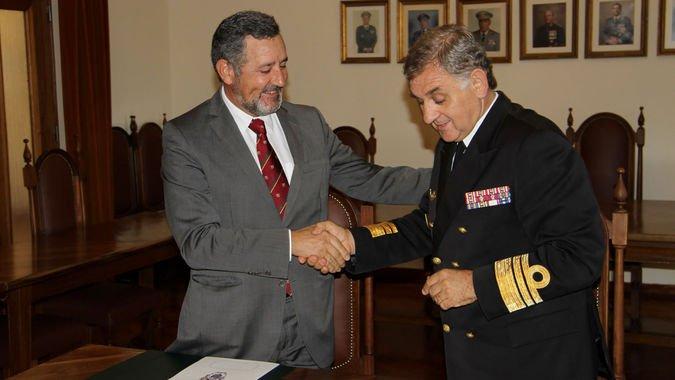 Assinatura do Protocolo entre o ISCSP-ULisboa e o IUM / Fotografias cedidas pelo Instituto Universitário Militar.