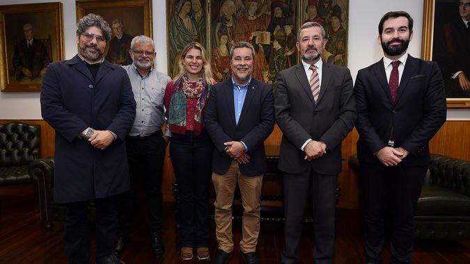 Comitiva da Universidade do Estado do Amazonas visita o ISCSP-ULisboa