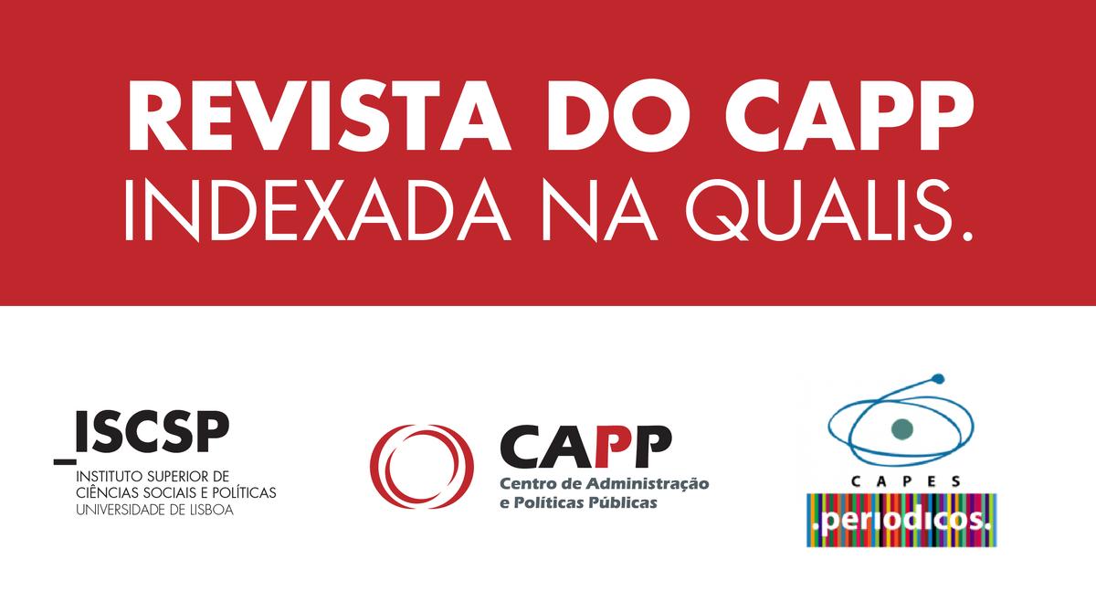 Revista do Centro de Administração e Políticas Públicas do ISCSP-ULisboa indexada na Qualis/CAPES