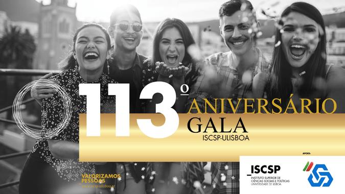 O ISCSP-ULisboa realiza no dia 21 de janeiro de 2019, a 4.ª Gala dos Prémios de Mérito 2018, por ocasião do 113.º Aniversário da Escola.