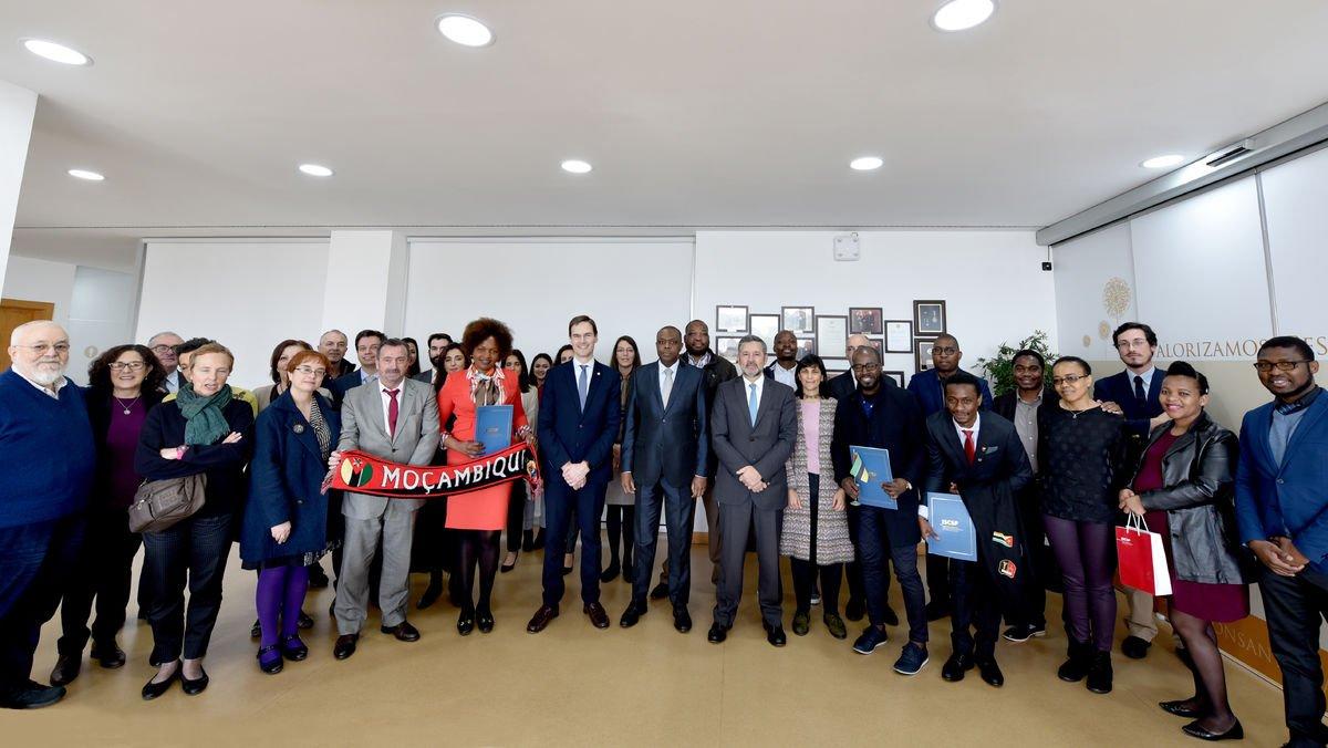 ISCSP-ULisboa realiza cerimónia de despedida dos estudantes do Instituto Nacional de Segurança Social de Moçambique
