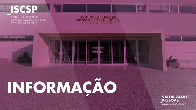 ISCSP publica os Resultados da Prova de Língua Portuguesa dos Maiores de 23 anos – 2020/2021