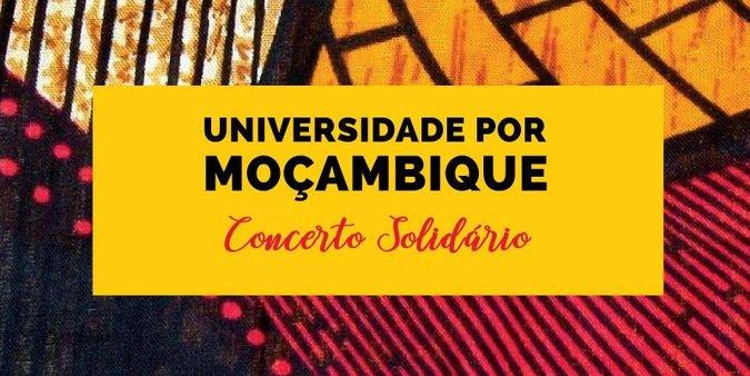 """Concerto solidário """"Universidade por Moçambique"""""""