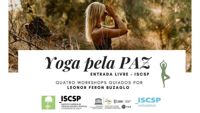 ISCSP-Wellbeing promove workshops de yoga