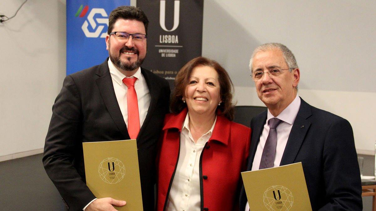 """Docentes Miguel Pereira Lopes e Jaime Fonseca receberam menções honrosas nos """"Prémios Científicos ULisboa/CGD"""""""