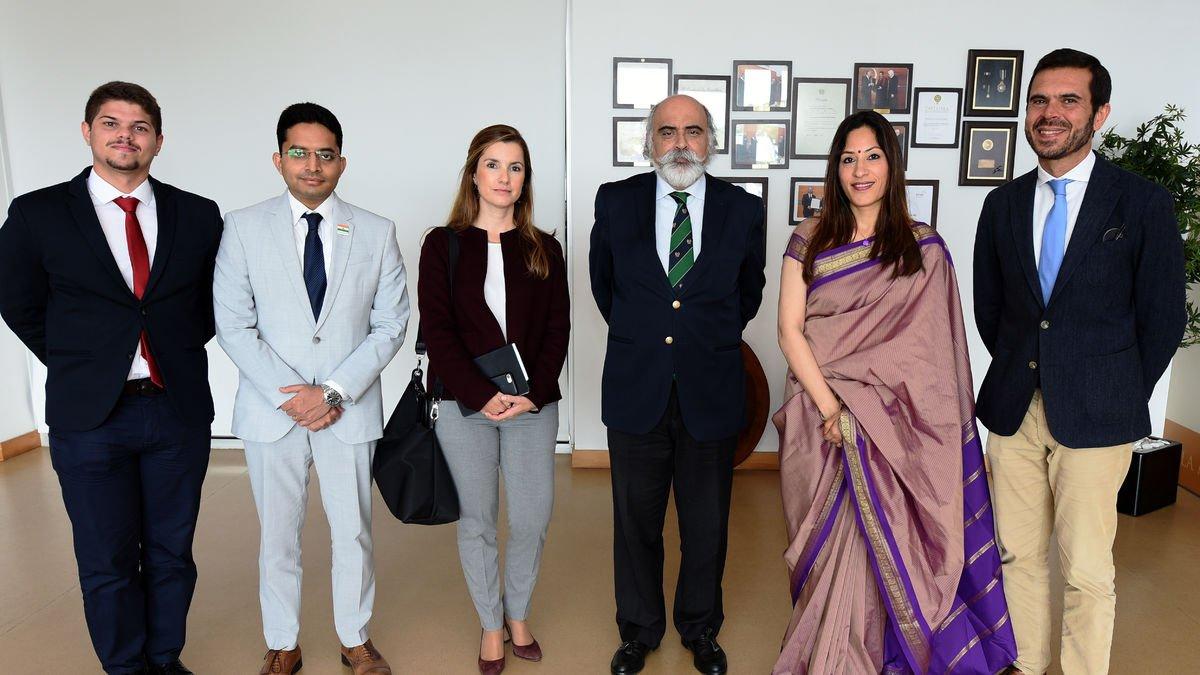 Embaixadora da União Indiana visita ISCSP-ULisboa