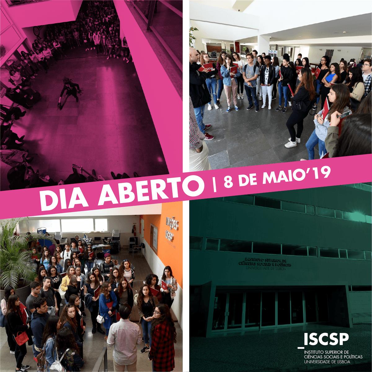 Dia Aberto ISCSP-ULisboa 2019