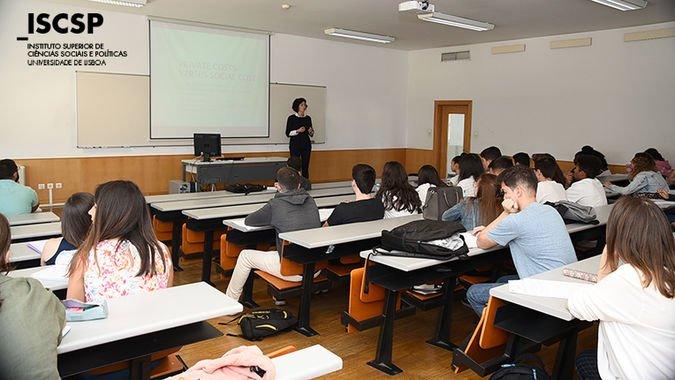 ISCSP-ULisboa recebeu Rosalba Rombaldoni (Università degli Studi di Urbino Carlo Bo) no âmbito de mobilidade Erasmus