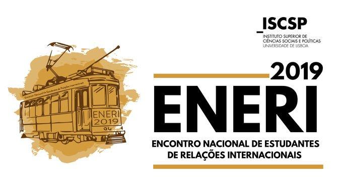Cartaz - Encontro Nacional de Estudantes de Relações Internacionais 2019