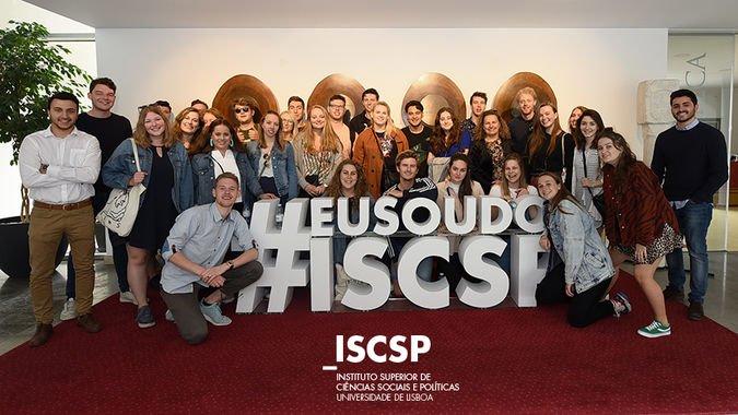 ISCSP-ULisboa recebe comitiva de alunos de Groningen