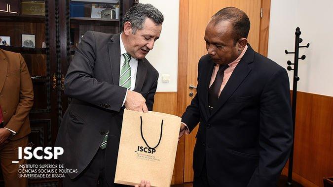 Comitiva de Deputados de Timor-Leste visita o ISCSP-ULisboa