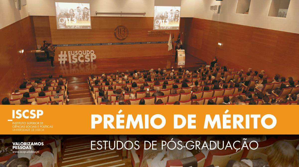 """Conheça o Prémio de Mérito """"Estudos de Pós-Graduação"""""""