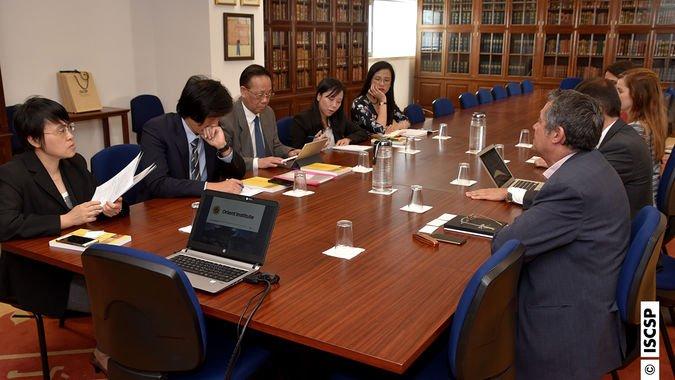 ISCSP-ULisboa recebeu visita da comitiva do China-ASEAN Research Institute da Universidade de Guangxi, no dia 21 de junho de 2019.