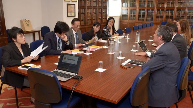 Comitiva da Universidade de Guangxi visita ISCSP-ULisboa