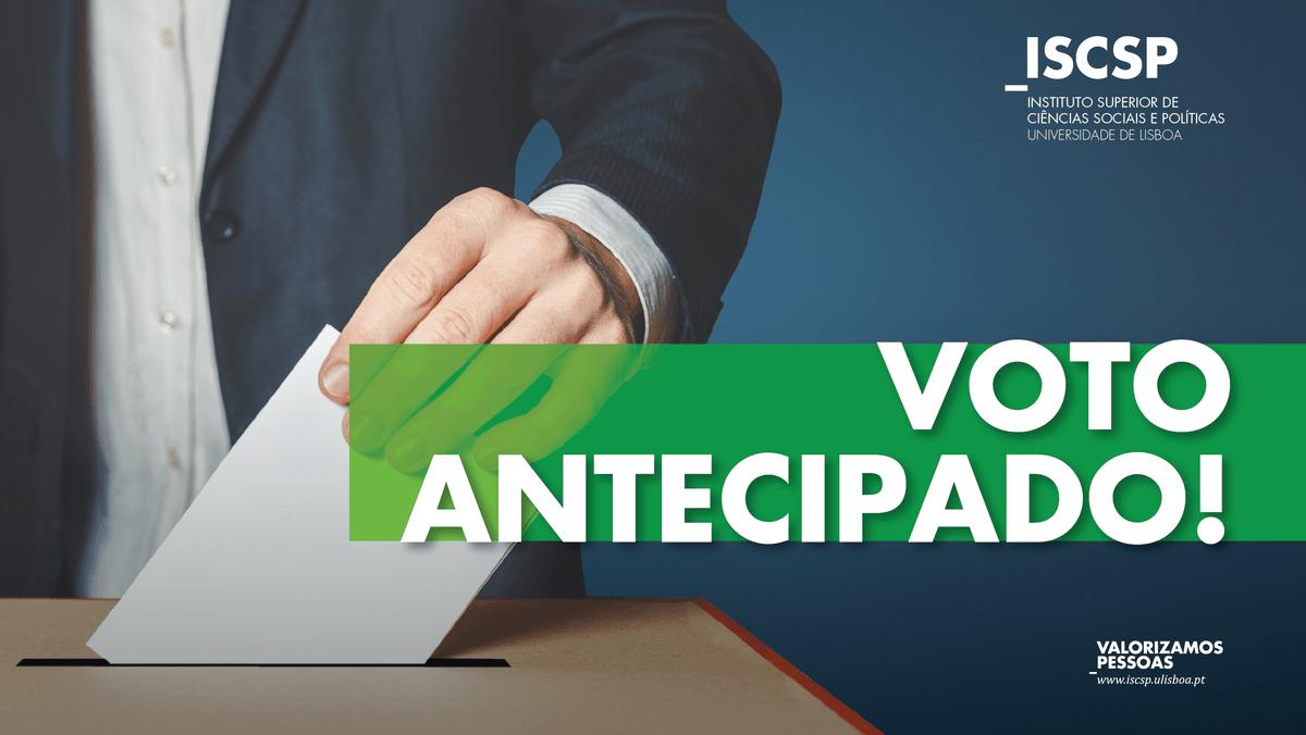 Voto antecipado em Mobilidade – Legislativas 2019