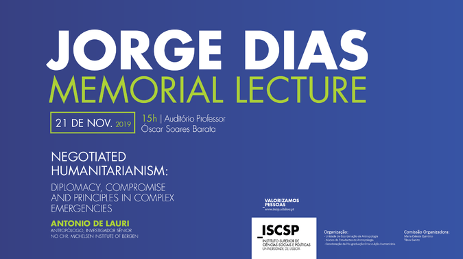 Antonio de Lauri será o convidado da iniciativa Jorge Dias Memorial Lecture 2019.