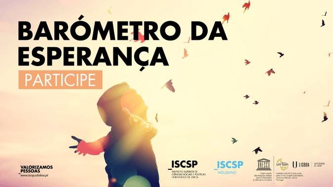 """""""Barómetro da Esperança"""" volta a analisar esperança dos portugueses"""
