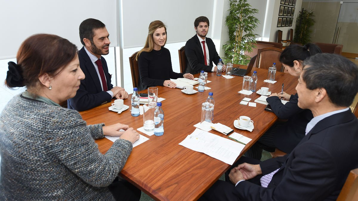 ISCSP-ULisboa recebe visita do Embaixador do Japão