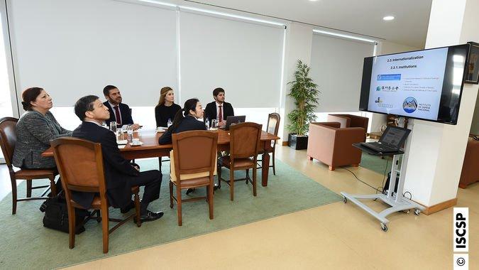 Embaixador do Japão visita ISCSP-ULisboa