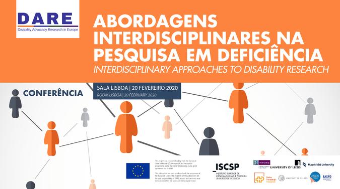 """ISCSP recebe a conferência sobre """"Abordagens Interdisciplinares na Pesquisa em Deficiência"""" no dia 20 de fevereiro de 2020."""