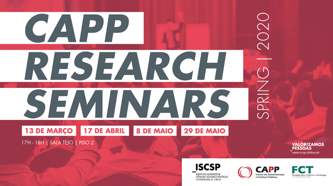 CAPP Research Seminars 2020