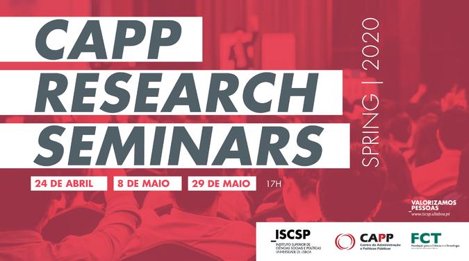 CAPP Research Seminars