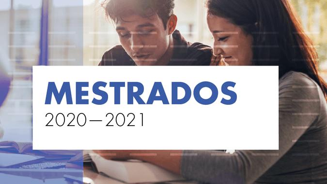 Candidaturas abertas aos Mestrados para o ano letivo 2020/21