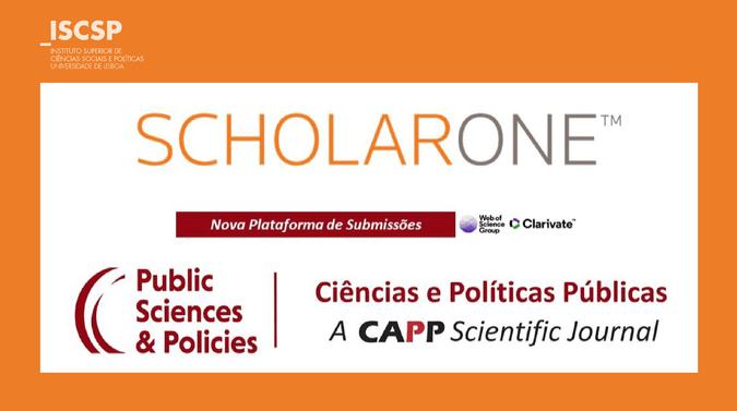 Revista do CAPP com Plataforma ScholarOne Manuscripts