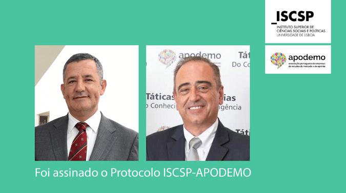 ISCSP e APODEMO firmam protocolo de cooperação
