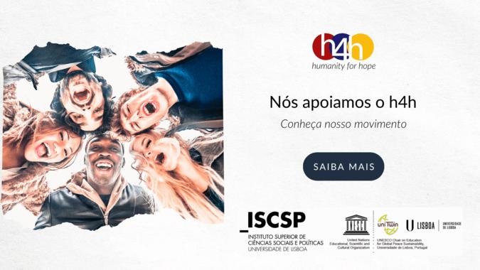 """ISCSP é parceiro do projeto internacional """"Humanity for Hope"""""""