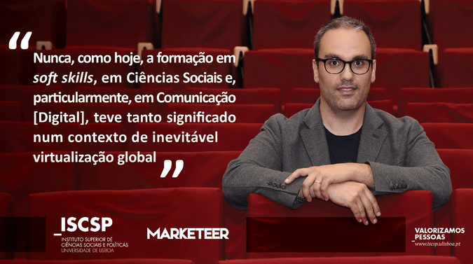 David Monteiro, coordenador executivo da pós-graduação em Comunicação Estratégica Digital do ISCSP, apresentou a 7.ª edição do curso em entrevista à Marketeer.